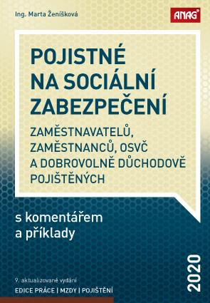 POJISTNÉ NA SOCIÁLNÍ ZABEZPEČENÍ 2020