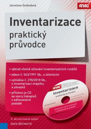 INVENTARIZACE PRAKTICKÝ PRŮVODCE+CD 8.VYD./ANAG