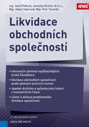 LIKVIDACE OBCHODNÍCH SPOLEČNOSTÍ 6.AKT.VYD.