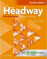 New Headway Pre-Intermediate (Fourth Ed.) WB with key + CD