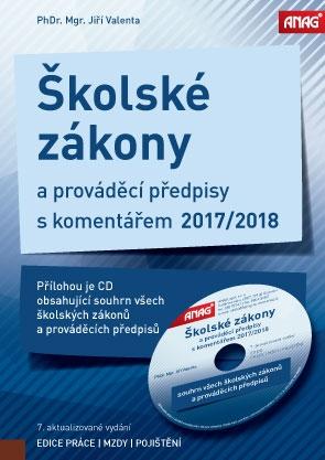 ŠKOLSKÉ ZÁKONY 2018 + CD